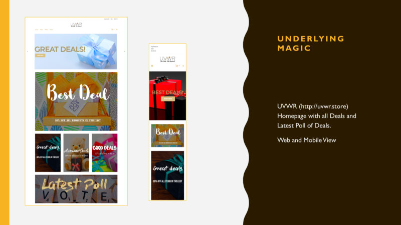 UVWR's Web and Mobile Home