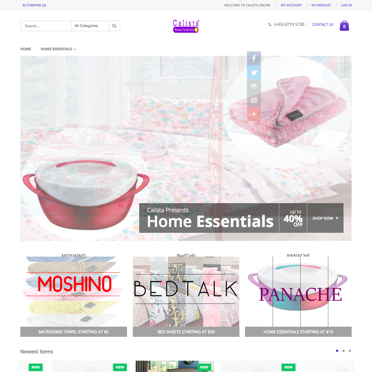 Calista-online Home sq
